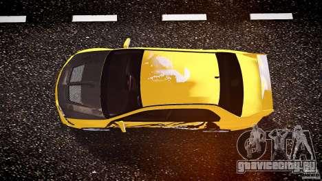 Mitsubishi Lancer Evolution для GTA 4 вид сверху
