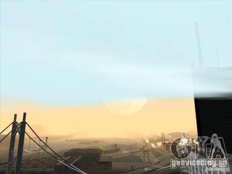 Реалистичный Timecyc для GTA San Andreas третий скриншот