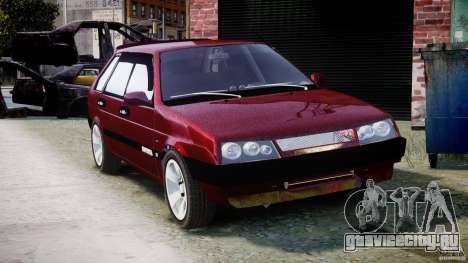 ВАЗ-2109 Samara 1999 для GTA 4 вид изнутри