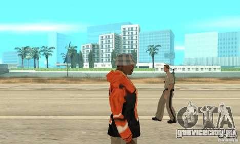 Балахон 2 для GTA San Andreas второй скриншот