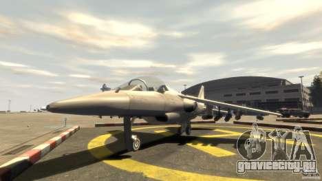 Liberty City Air Force Jet (с шосси) для GTA 4