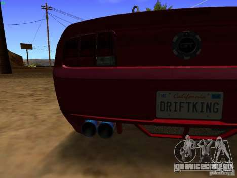 Ford Mustang GT 2005 Tuned для GTA San Andreas