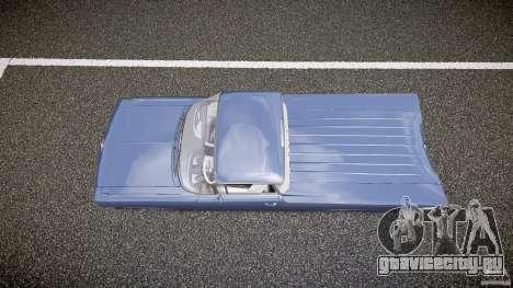 Chevrolet El Camino Custom 1959 для GTA 4 вид справа