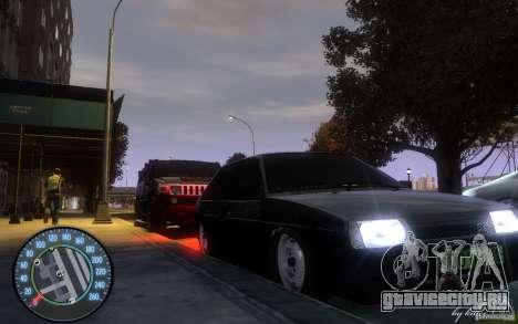 ВАЗ 2109 Дагестанский тюнинг для GTA 4