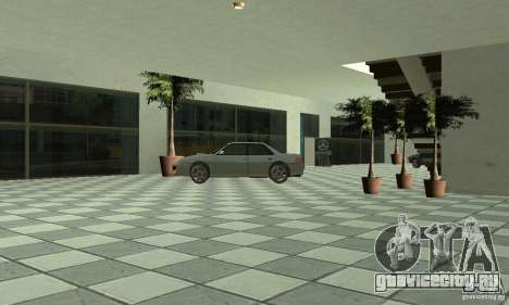 Mercedes Showroom v.1.0(Автоцентр) для GTA San Andreas шестой скриншот