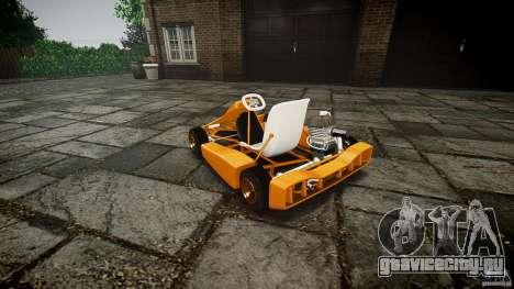 Karting для GTA 4 вид изнутри