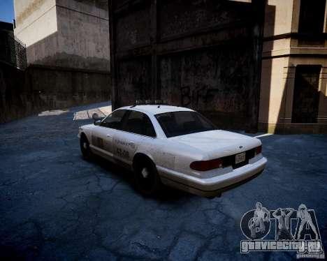 Russian NOOSE Cruiser для GTA 4 вид сзади слева