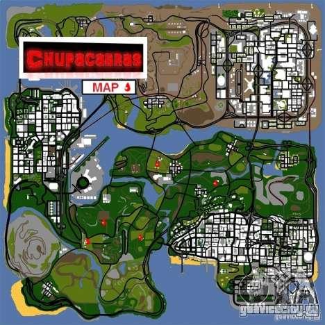 Chupacabra для GTA San Andreas третий скриншот
