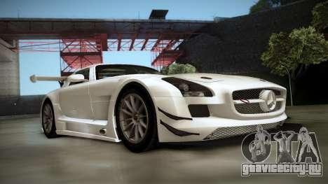 Mercedes-Benz SLS AMG GT3 для GTA San Andreas вид слева