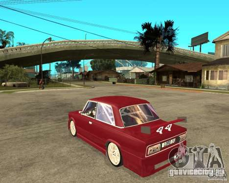 Ваз 2106 Lord для GTA San Andreas вид слева