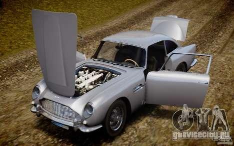 Aston Martin DB5 1964 для GTA 4 вид сверху