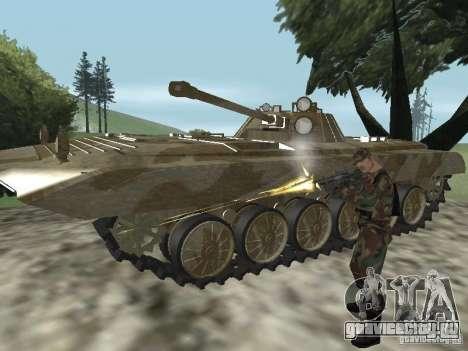 БМП-2 из CGS для GTA San Andreas вид сзади