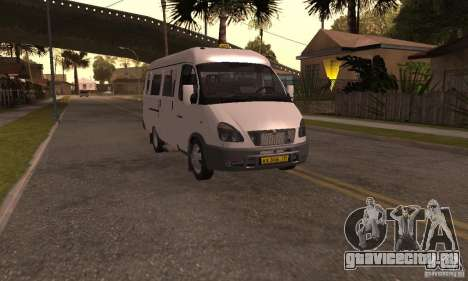 ГАЗель 32213 Новосибирская Маршрутка для GTA San Andreas