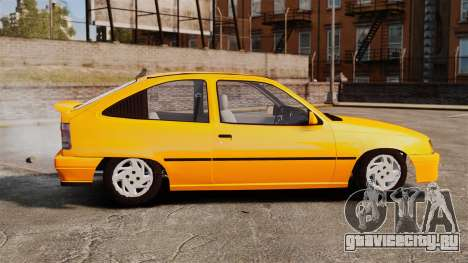 Opel Kadett GL 1.8 1996 для GTA 4 вид слева