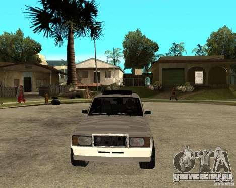 ВАЗ 2107 Light Tuning v2.0 для GTA San Andreas