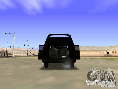 Burrito HD для GTA San Andreas вид изнутри
