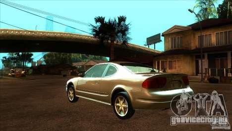 Oldsmobile Alero 2003 для GTA San Andreas вид сзади слева