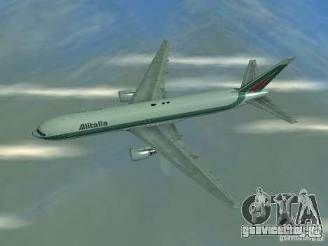 Boeing 767-300 Alitalia для GTA San Andreas