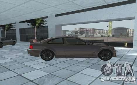 Sentinel из GTA 4 для GTA San Andreas вид слева