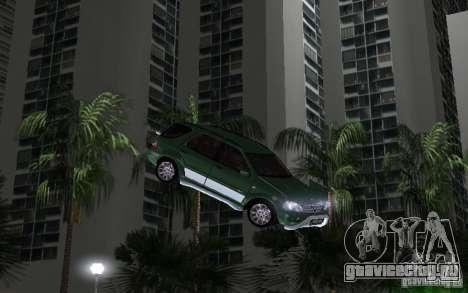 Mercedes-Benz ML55 Demec для GTA Vice City вид слева
