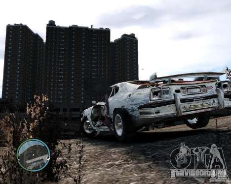 Flatout Shaker IV для GTA 4 вид справа