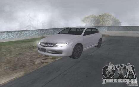 Субару Импреза в стиле SA для GTA San Andreas