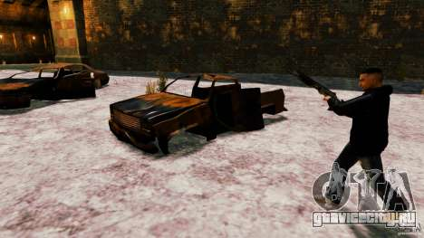 Marshall из Crysis 2 для GTA 4 пятый скриншот