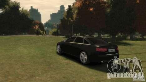 Audi RS6 v.1.1 для GTA 4 вид слева