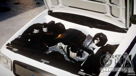 Ford Crown Victoria 2003 FBI Police V2.0 [ELS] для GTA 4 вид сбоку