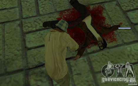 Mutant для GTA San Andreas пятый скриншот
