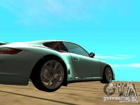 Porsche 997 GT3 RS для GTA San Andreas вид сзади