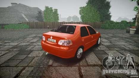 Fiat Albea Sole для GTA 4 вид сбоку
