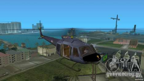 Maverick Bell-Huey для GTA Vice City вид слева
