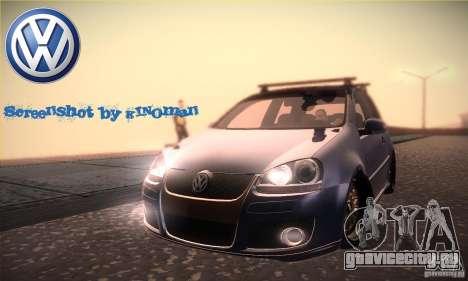 Volkswagen Golf Mk5 GTi для GTA San Andreas