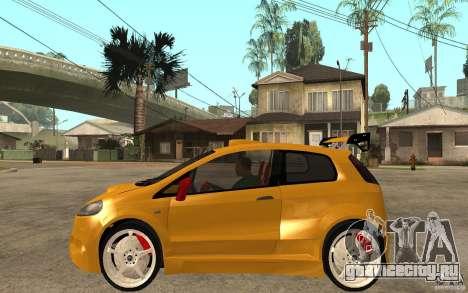 Fiat Grande Punto Tuning для GTA San Andreas вид слева