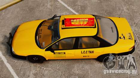 Dodge Intrepid 1993 Taxi для GTA 4 вид справа