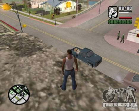 GTA 4 Anims for SAMP v2.0 для GTA San Andreas шестой скриншот