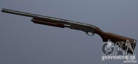 Remington 870AE Silver для GTA San Andreas третий скриншот