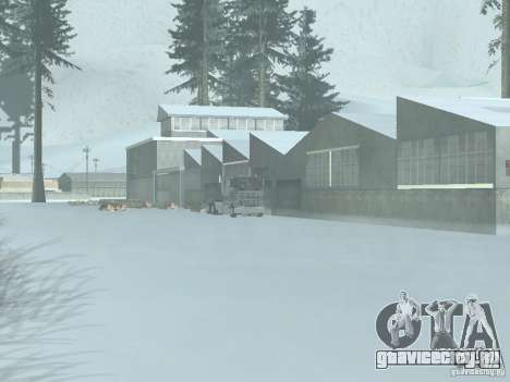 Зима для GTA San Andreas третий скриншот