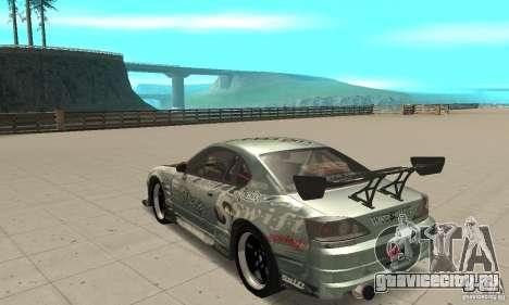 Nissan Silvia S15 [F&F3] для GTA San Andreas вид сзади слева
