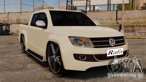 Volkswagen Amarok Light Tuning для GTA 4