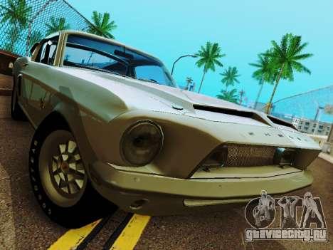Shelby GT 500 KR для GTA San Andreas вид сбоку