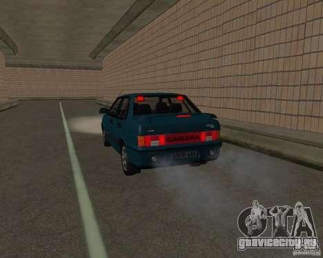 ВАЗ 21099 Люкс для GTA San Andreas вид сбоку