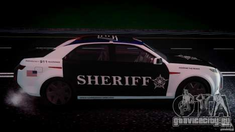 Carbon Motors E7 Concept Interceptor Sherif ELS для GTA 4