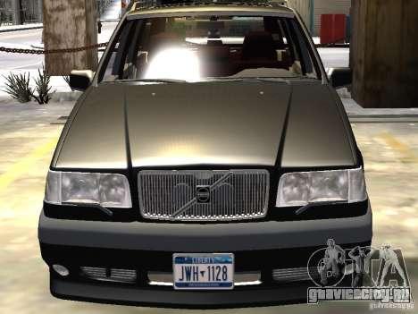 Volvo 850 R 1996 Rims 1 для GTA 4 вид снизу