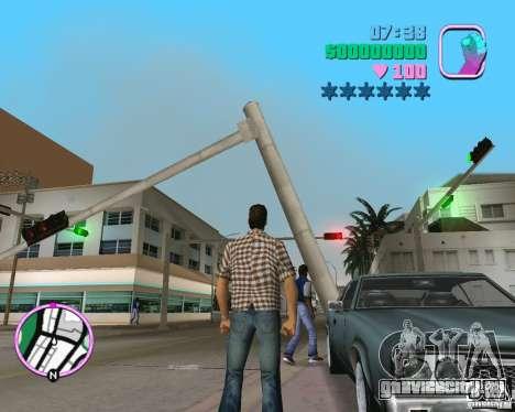 Обновлённый Sabre для GTA Vice City вид справа