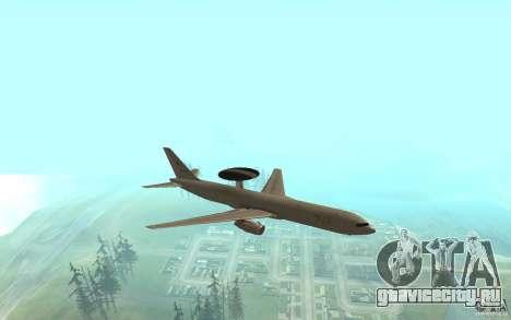 Boeing E-767 для GTA San Andreas вид слева