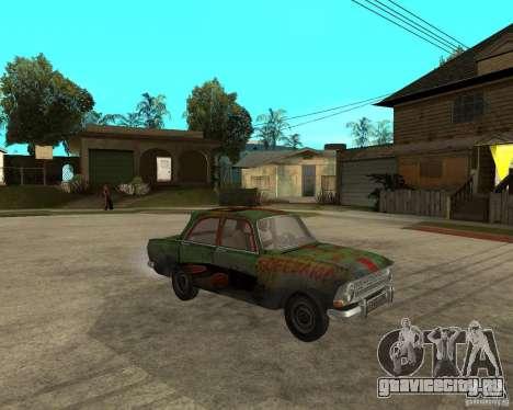Москвич 412 bloodring для GTA San Andreas вид справа