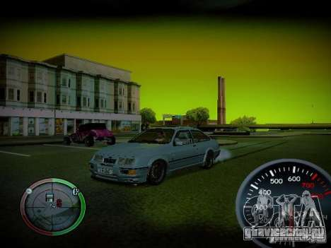 Спидометр by CentR v2 для GTA San Andreas