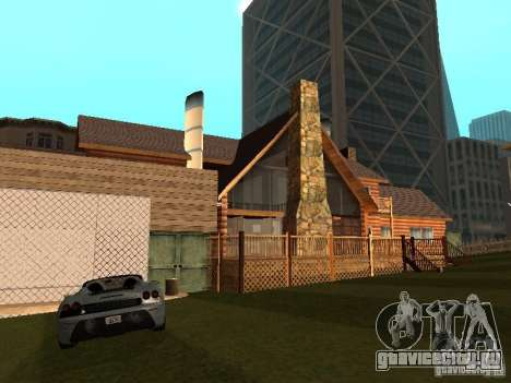 Вилла в Сан-Фиерро для GTA San Andreas четвёртый скриншот